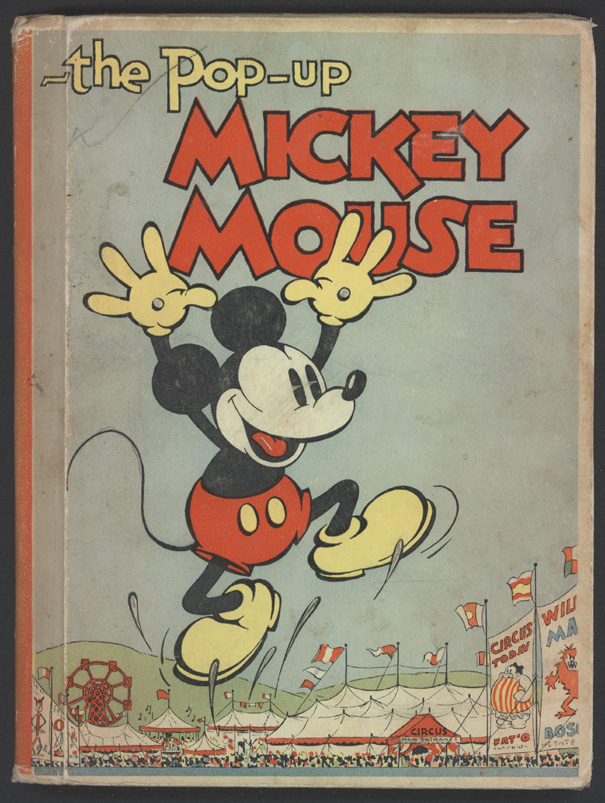 The Pop Up MICKEY MOUSE 1933 Blue Ribbon Books